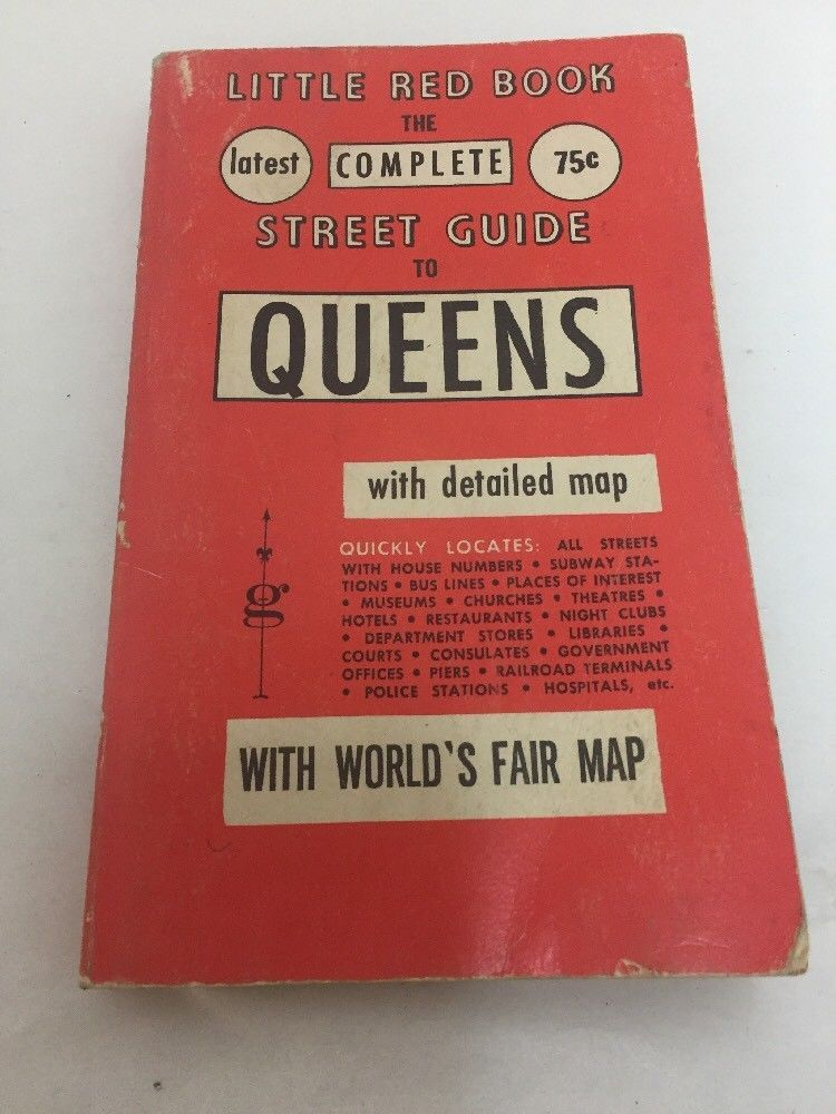 The Complete Street Guide To Queens 1964 Detailed Map of