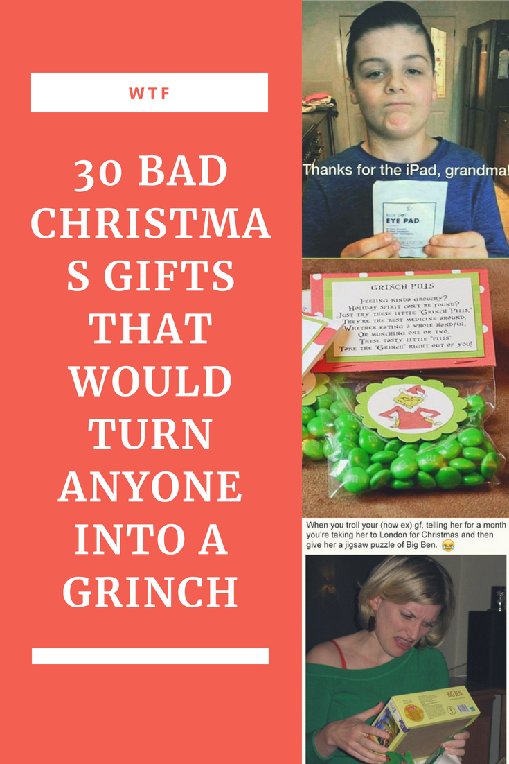 30 Bad Christmas Gifts That Prove It\'s Definitely Not The Thought ...