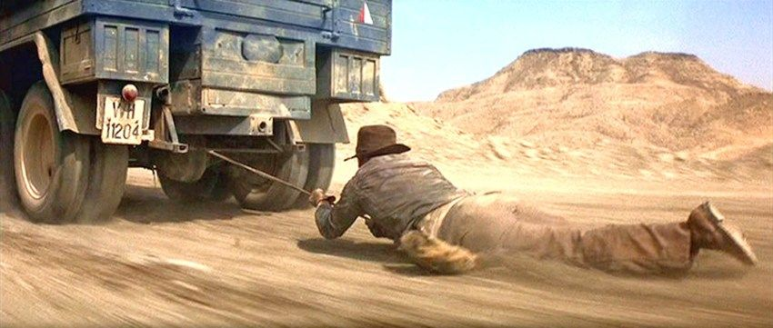 Raiders of the Lost Ark -- Truck Chase | Indiana jones, Indiana jones  films, Indiana