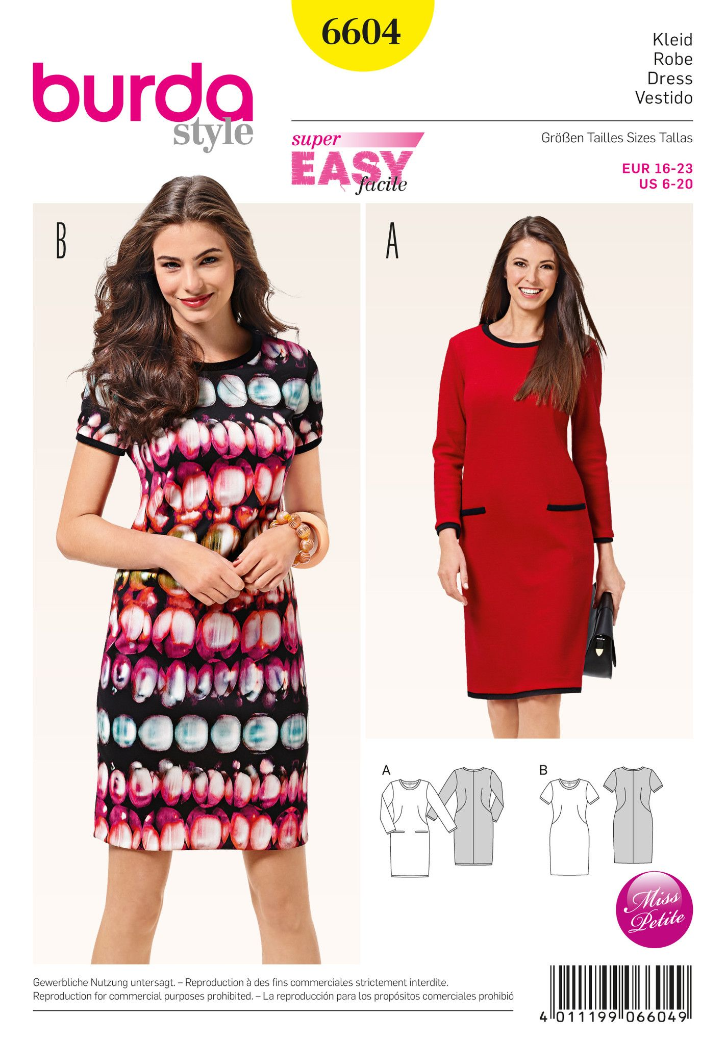 Bd6604 burda style pattern 6604 dress dressmaking pinterest bd6604 burda style pattern 6604 dress bankloansurffo Images