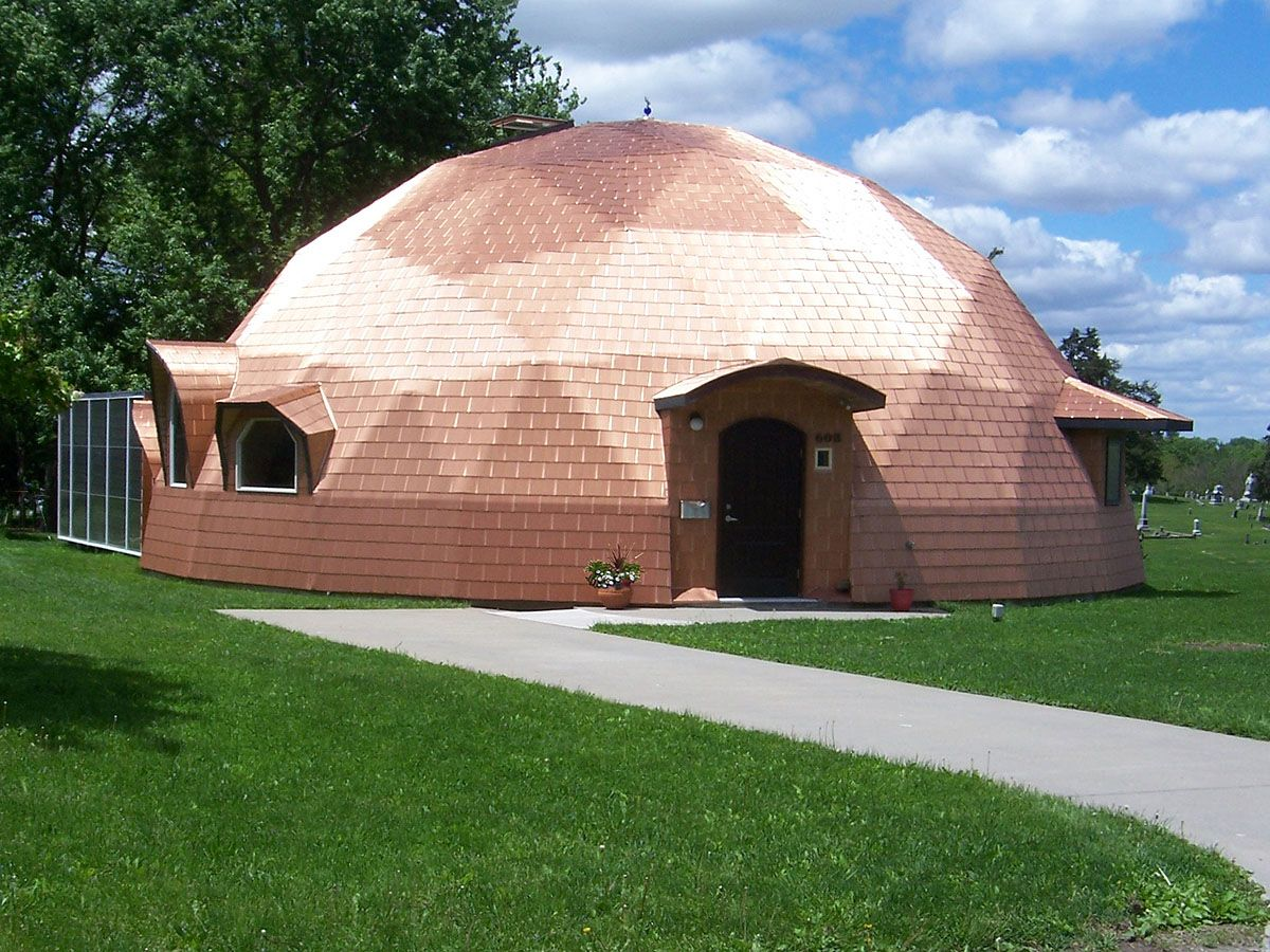 Superinsulated Geodesic Dome House For Sale 169000 Paul Casa