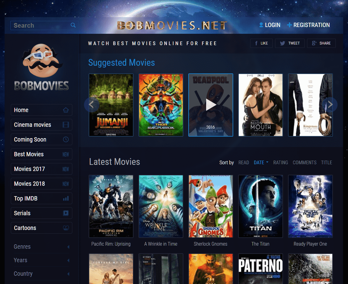 Way To Watch Online Free Movies And Tv Show On Bobmovies In 2020 Streaming Movies Online Movie Website Streaming Movies