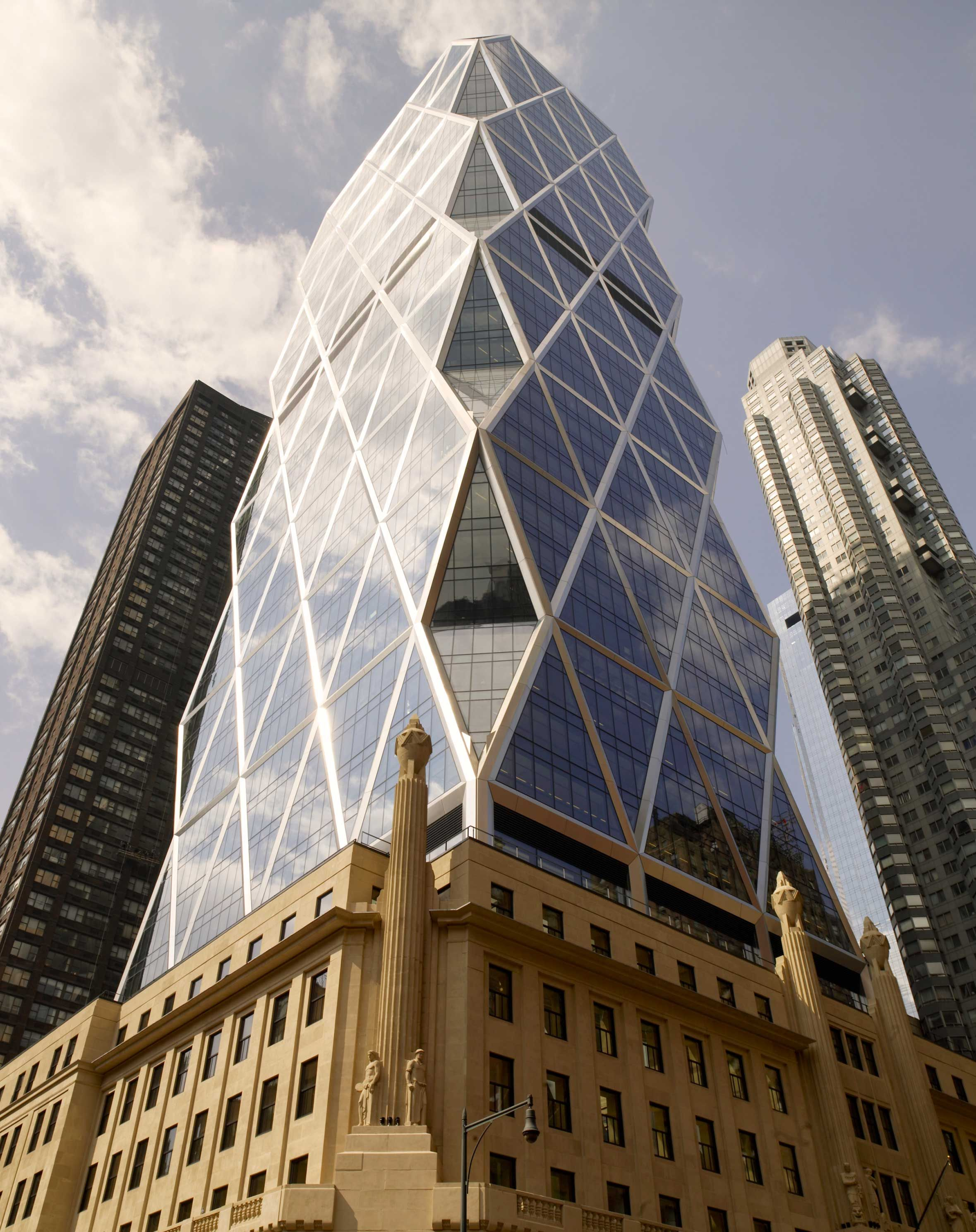 Hearst Tower | Projects | Foster + Partners | Foster & Partners ...