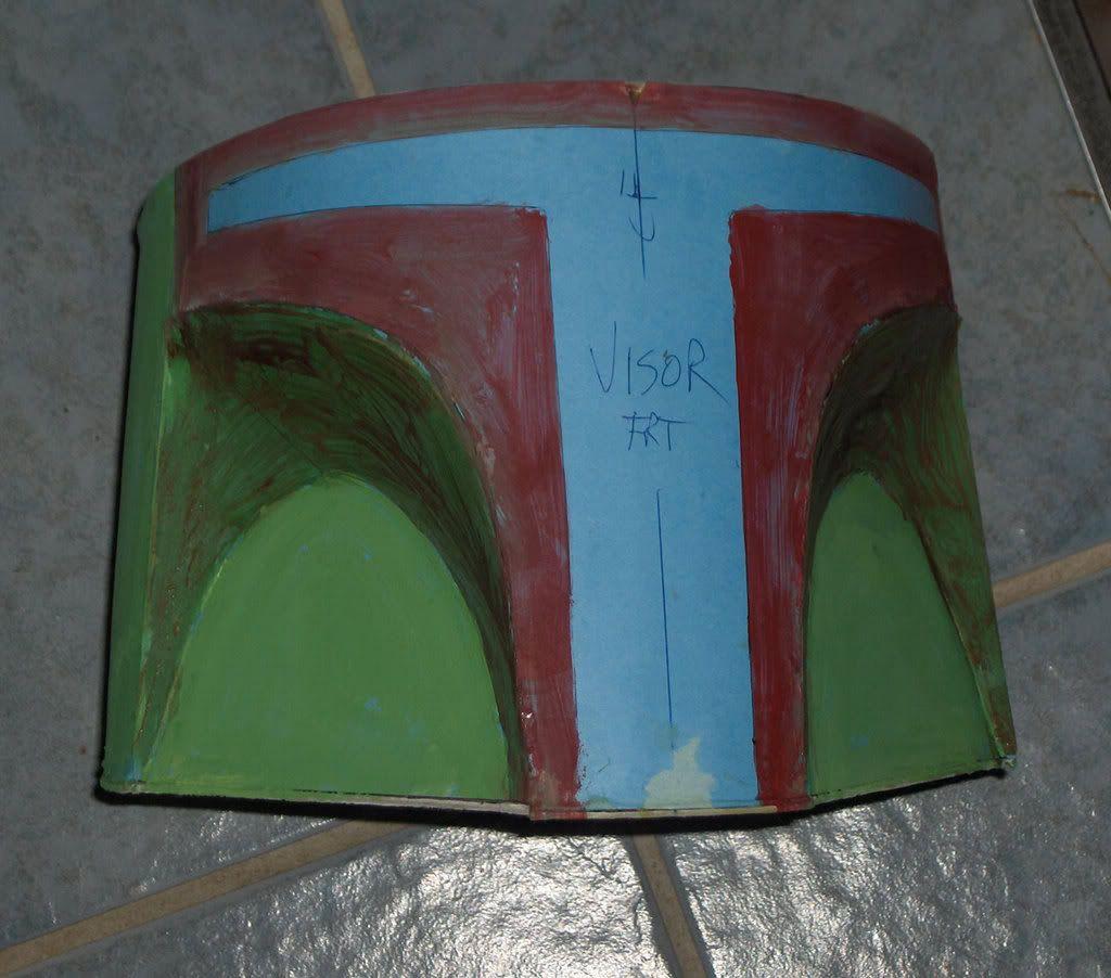 Boba Fett Helmet Blueprints/Templates - Page 8 | Boba Fett ...