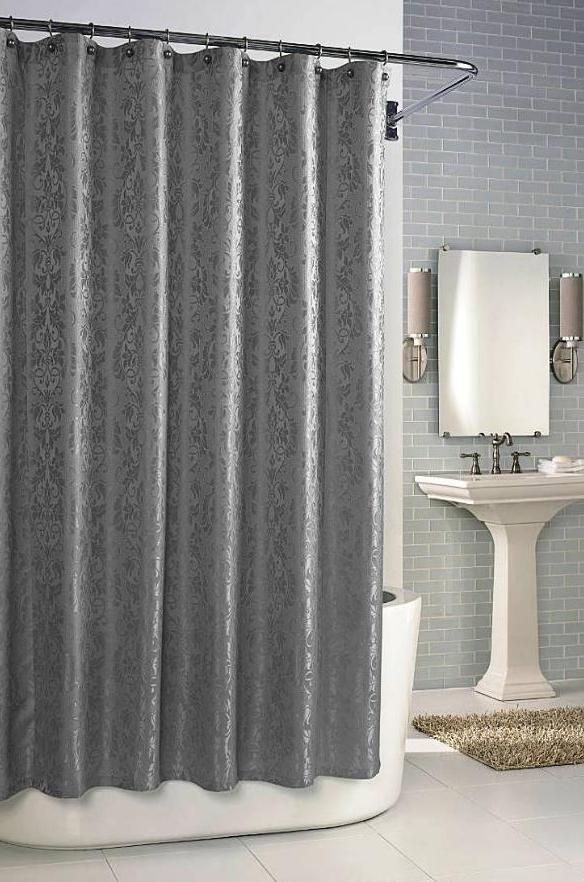 Parisian In Dove Grey Shower Curtain By Kassatex From Kellsson