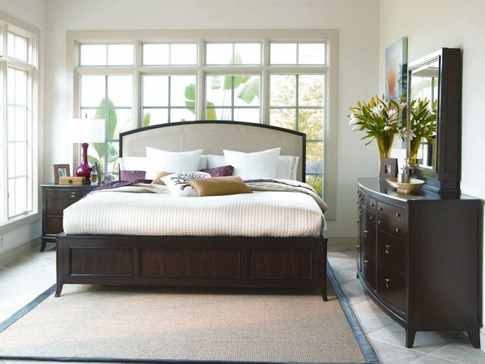 Better Homes And Gardens By Universal Bedroom Leather Platform Headboard,  838310   Boyles Furniture   Hickory, NC