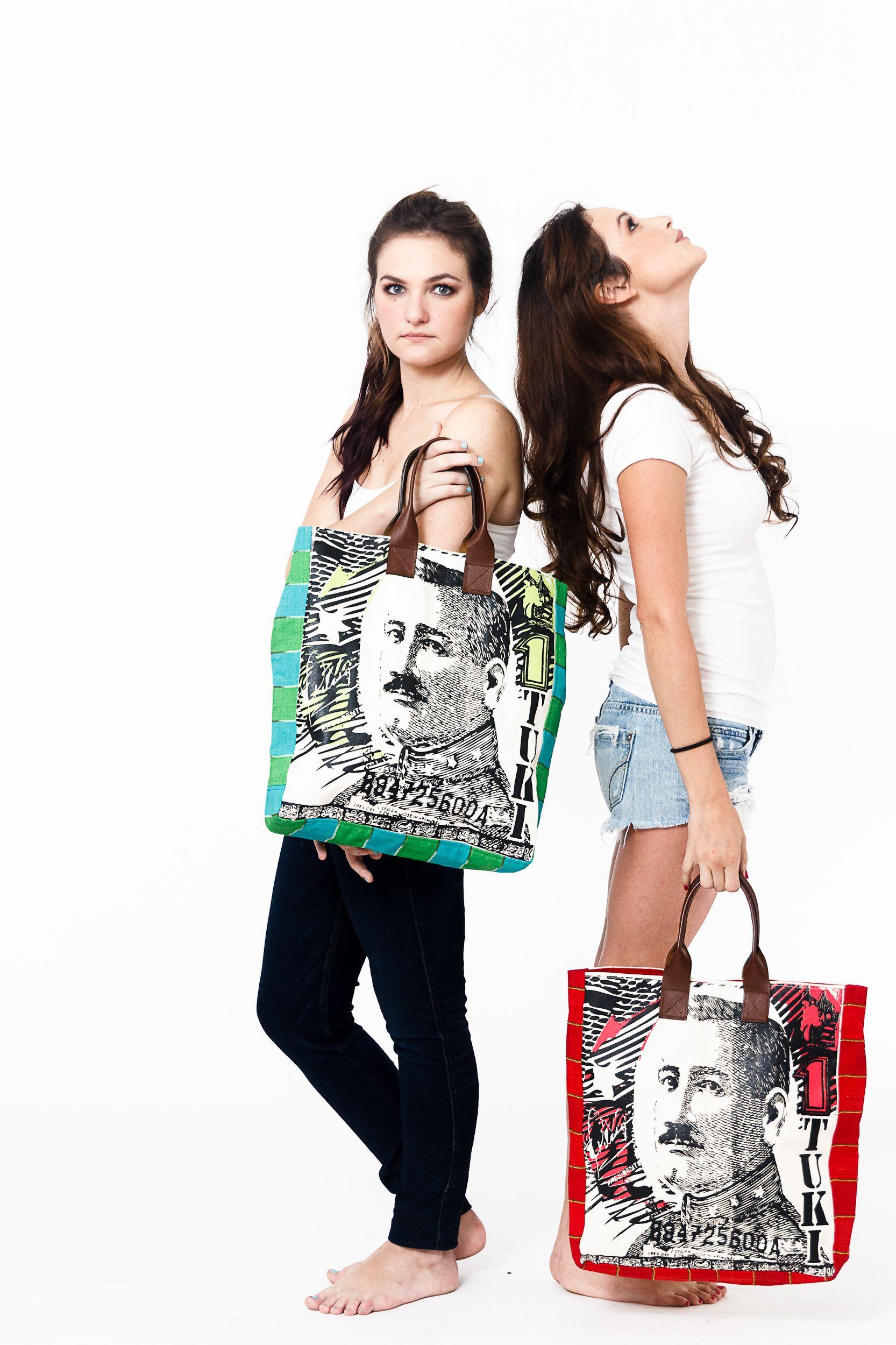Tote Bag - girl by VIDA VIDA XH6KuMdT0