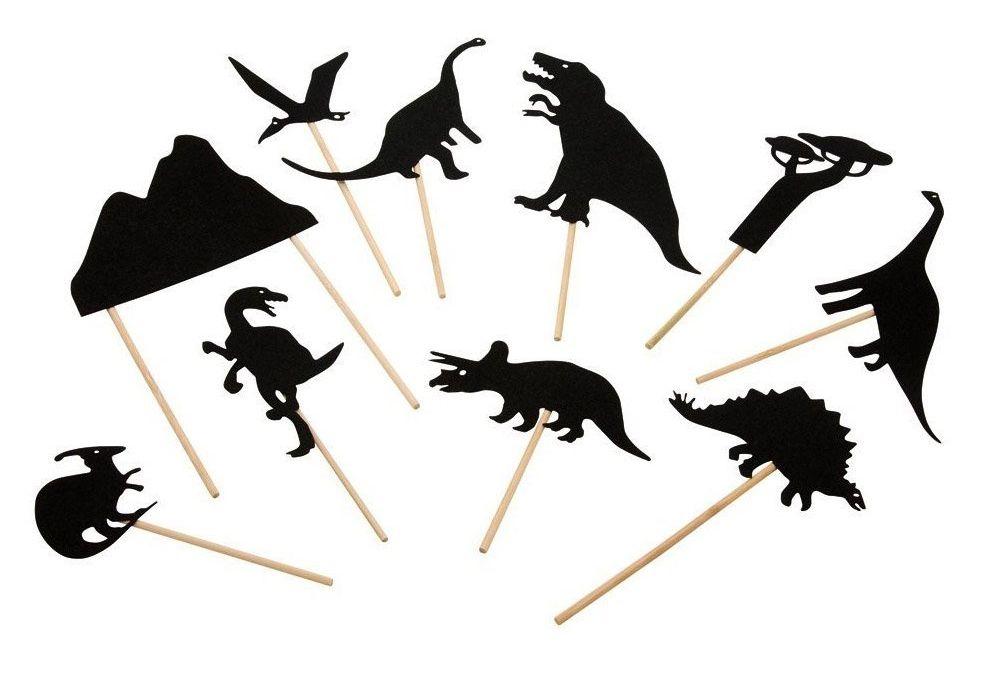 Dinosaur shadows | K I D // P L A Y | Pinterest | Pretend play