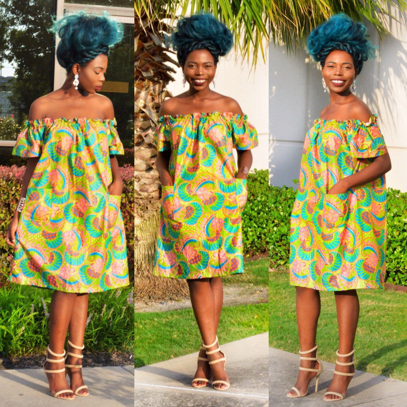 African Clothing African Fabric Ankara Dress By Shoplolaster Clothes Pinterest Ankara