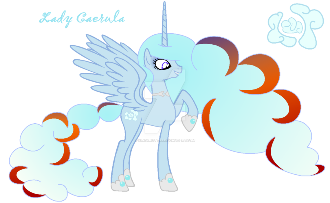 Lady Caerula Creator Of Clouds Mlp My Little Pony Mlp Pony Cute Doodles