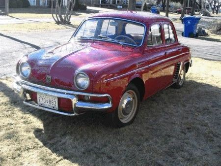 Dad S Early 1960s Renault Dauphine Renault Dauphine Car Inspiration