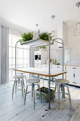 Petit appartement déco à Prague Construction, Interiors and Kitchens