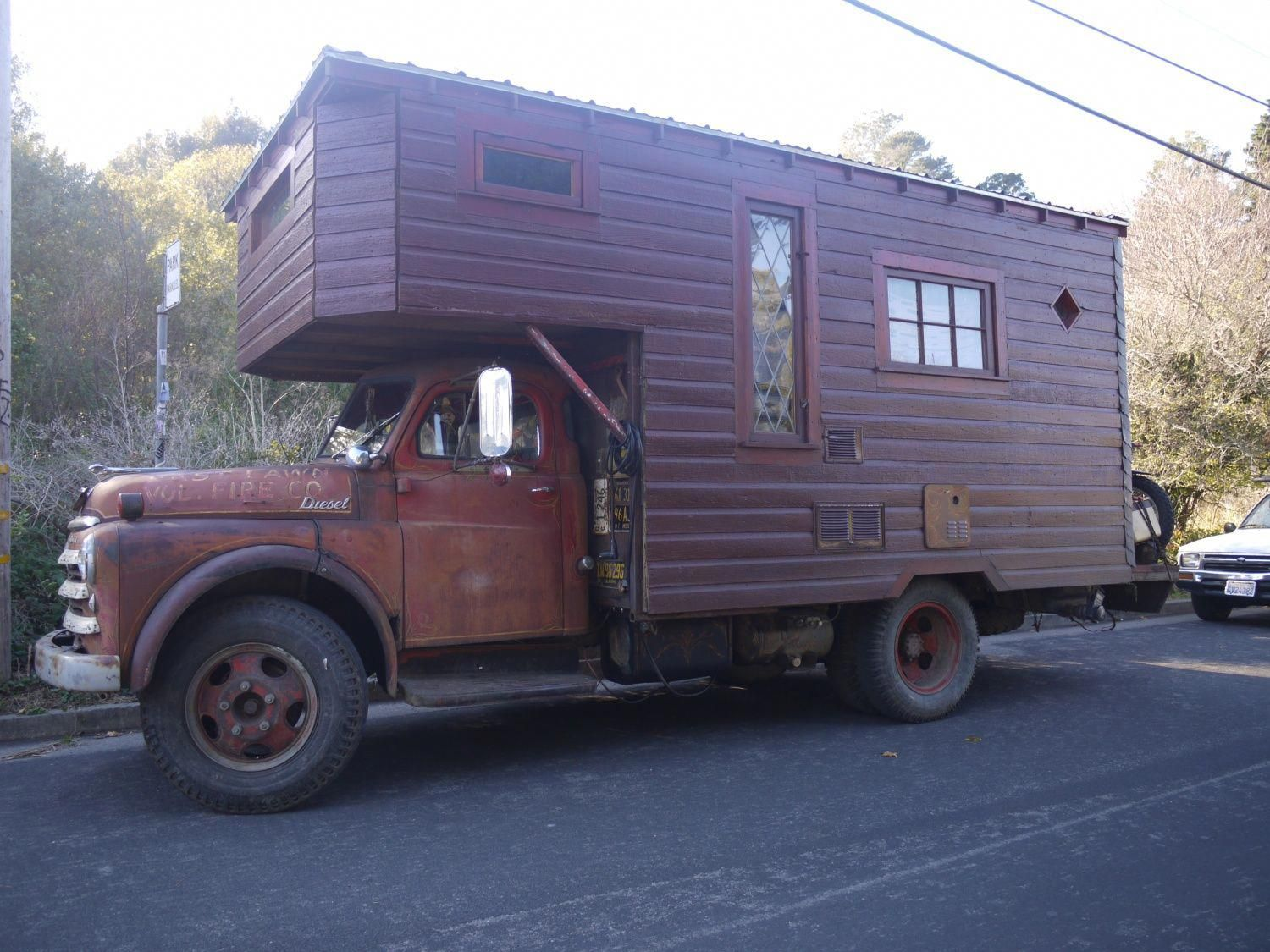 John's house truck was featured earlier this year when