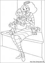 102 Dalmatians Coloring Pages On Coloring Book Info Coloring Pages Coloring Books Dalmatian