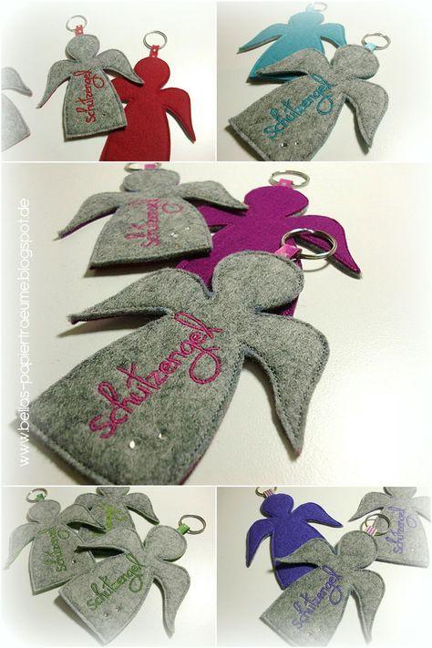 Hinter dem 24. kreativen Türchen steckt noch ein kleiner Schutzengel für Dich zu Weihnachten :) Als Anhänger für den Schlüssel, die Tasc... #weihnachtsmarktideenverkauf