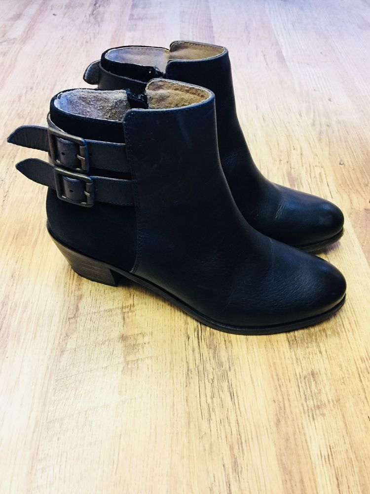 Suede Ankle Boots Size