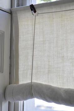 Swedish 18thC Reproduced Roller Blind Kit   Window Dressing   Scandinavian  Interiors Part 84