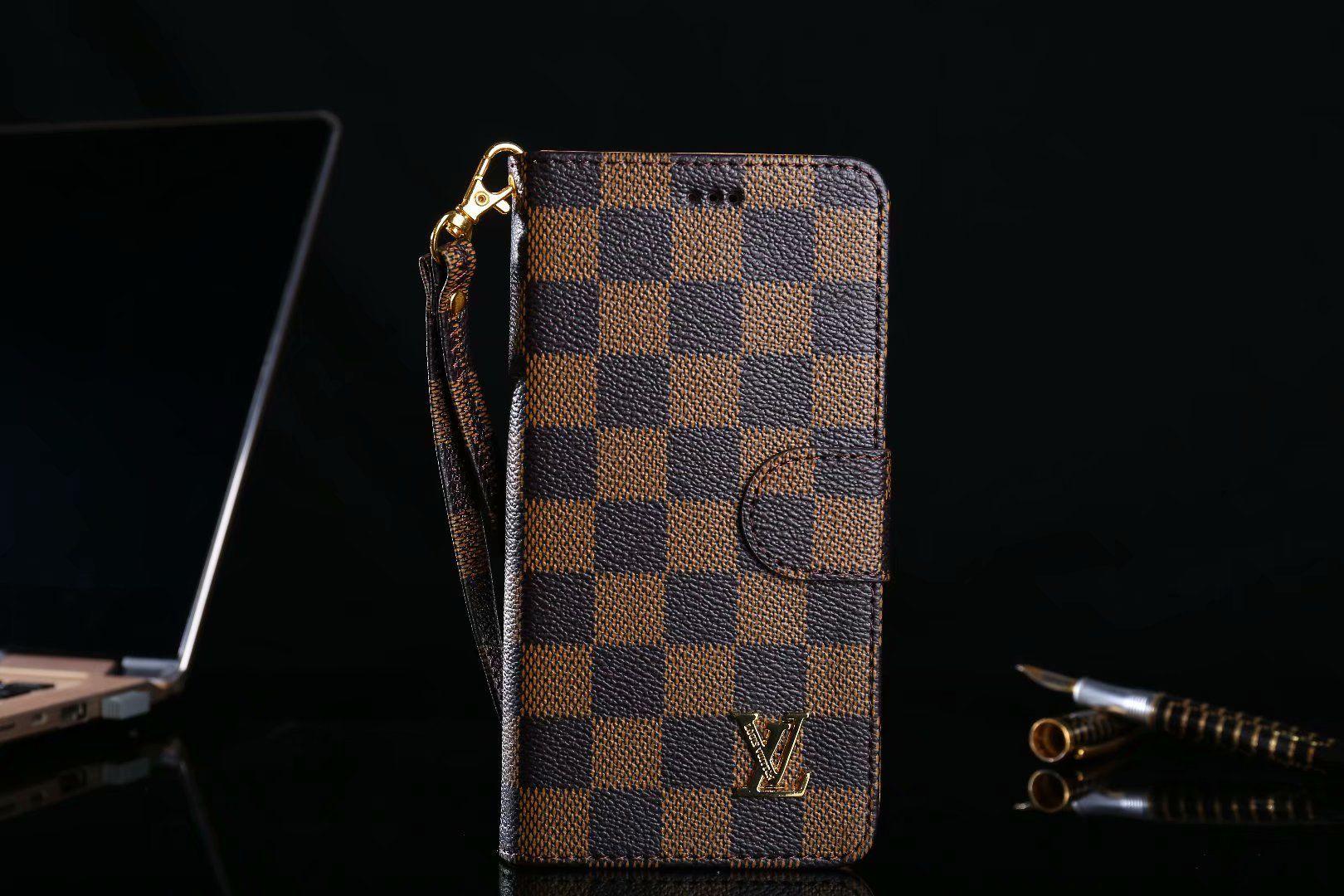 Iphone xsxrmax classic lv gucci folio phone case for