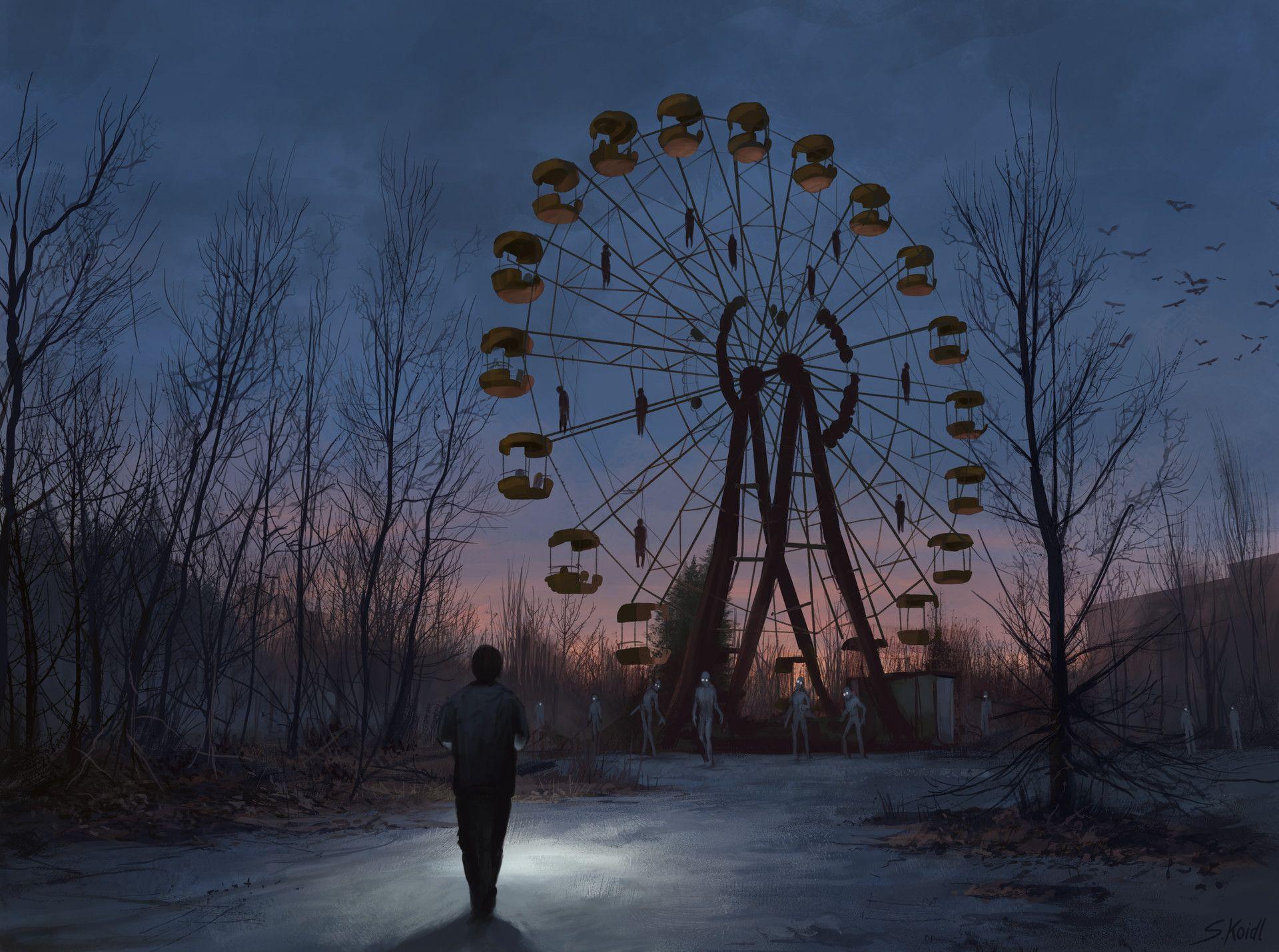 ArtStation A Chernobyl Horror Story 2 Stefan Koidl dark arts Pinterest