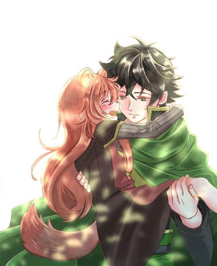 Raphtalia Demi Human Naofumi Shields Hero By Tatenoyuushanarigari Anime Wolf Girl Demi Human Anime Love Couple