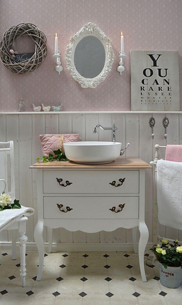 dunava landhauswaschtisch von badm bel landhaus eine. Black Bedroom Furniture Sets. Home Design Ideas