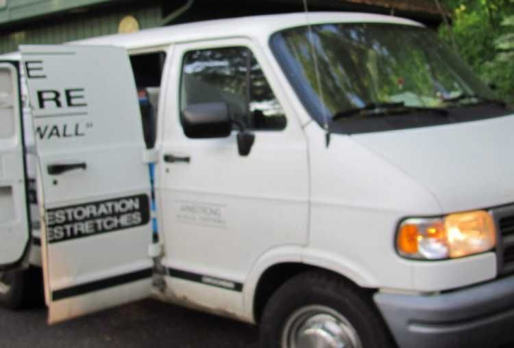 White 1998 One Ton Dodge Van With Prochem 405 With Images