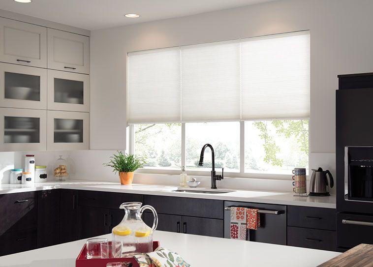 How To Decorate Kitchen Windows Designalls In 2020 Kitchen Window Treatments Diy Kitchen Window Coverings Kitchen Window Treatments