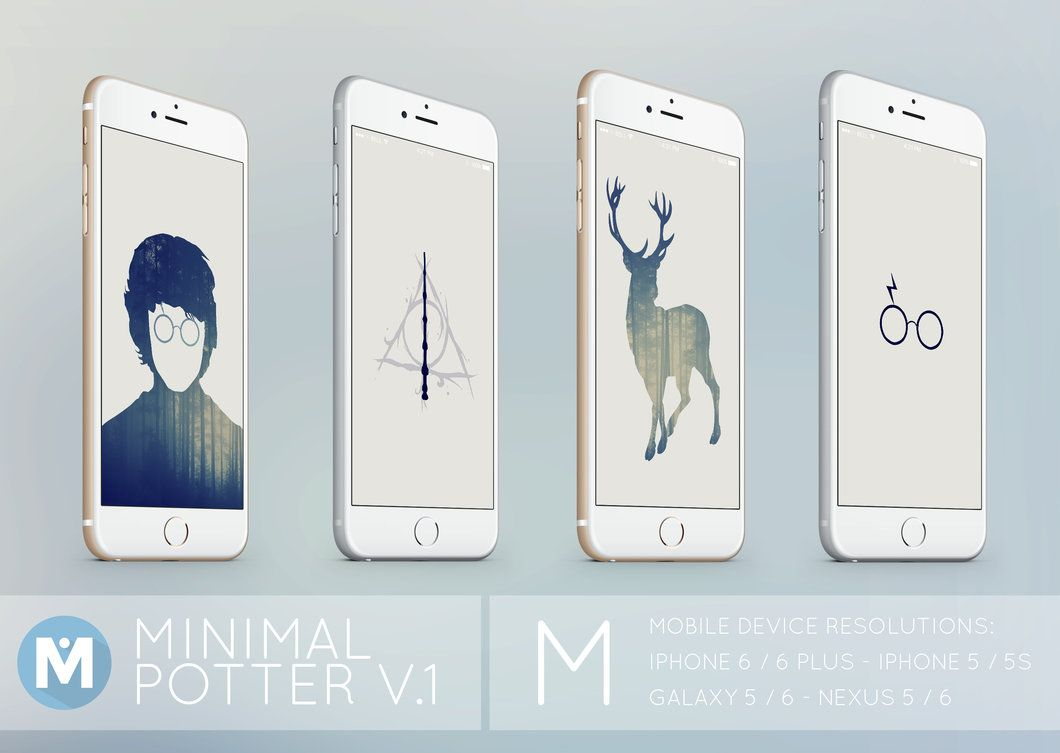 4 Wallpaper Set : Mobile Devices