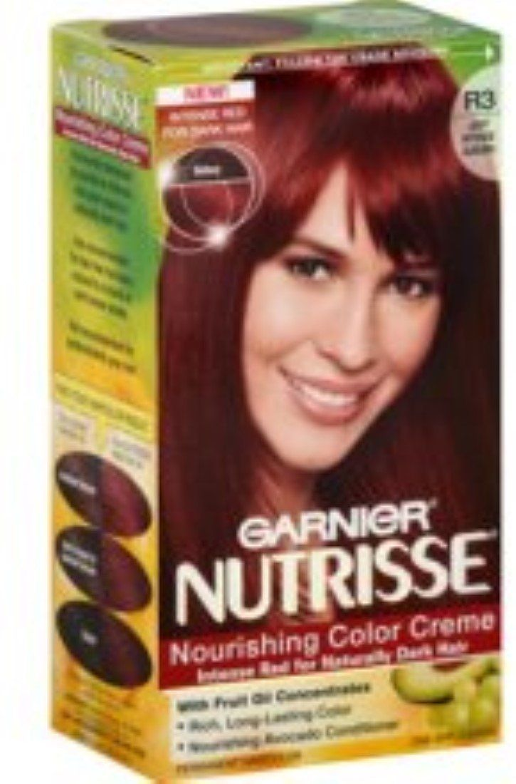Garnier Nutrisse Haircolor Creme R3 Light Intense Auburn 1 Each