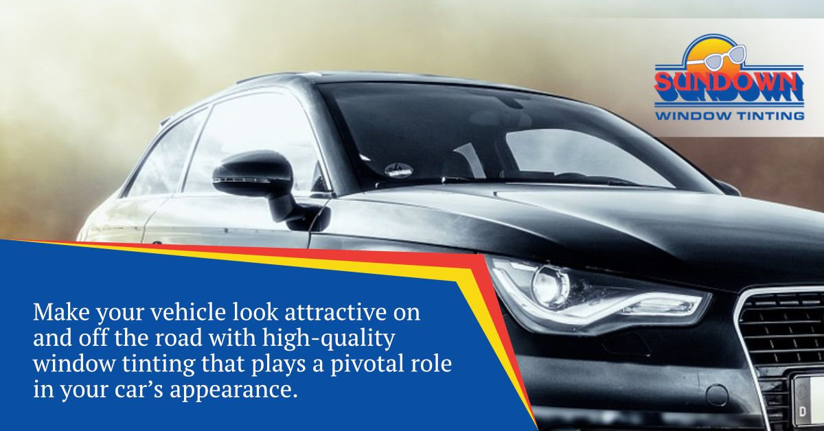 Make Your Vehicle Look Attractive On And Off The Road With High Quality Window Tinting That Plays A Pivota Quality Windows High Quality Windows Tinted Windows