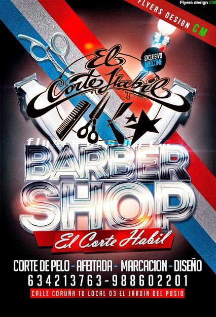 flyers cm barbershop flyer diseo exclusivo y personalizado para peluquerias diseo de flyers