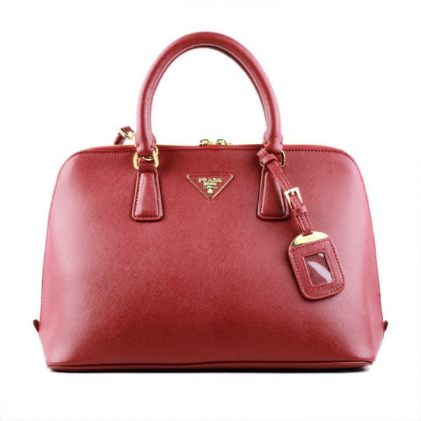 Prada 0812 Maroon cross pattern tote bag - $251.99 http://www.lhbon ...