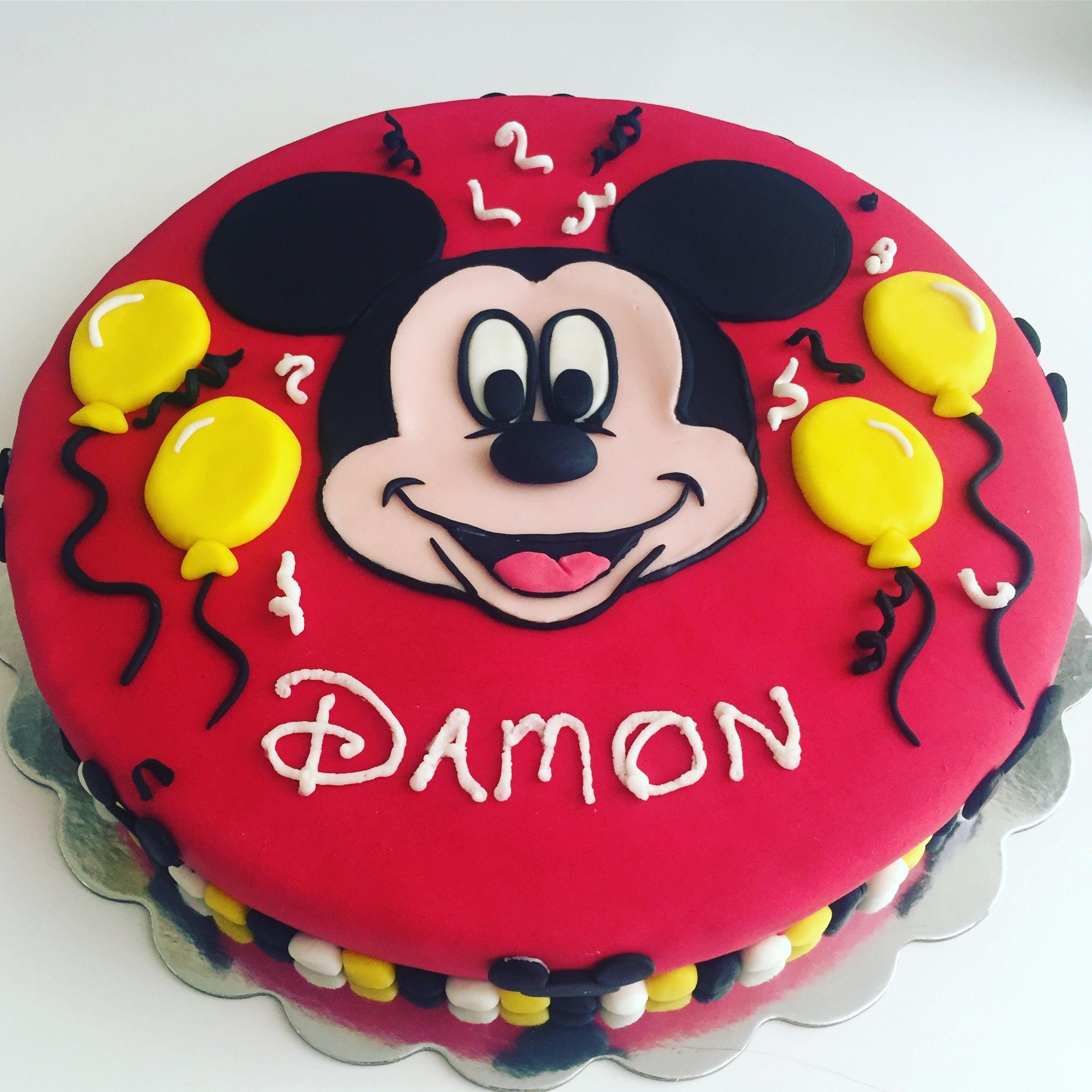 Mickey mouse birthday cake mickey mouse birthday cake