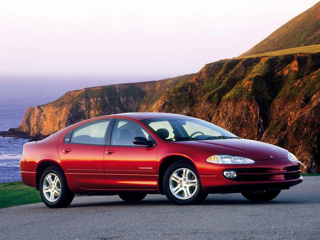 Dodge Intrepid (Black with Spoiler and sunroof) My first car! RIP Black  Betty