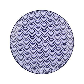 Nippon Blue Dinner Plate - Wave  sc 1 st  Pinterest & Nippon Blue Dinner Plate - Wave | For the House | Pinterest | Blue ...