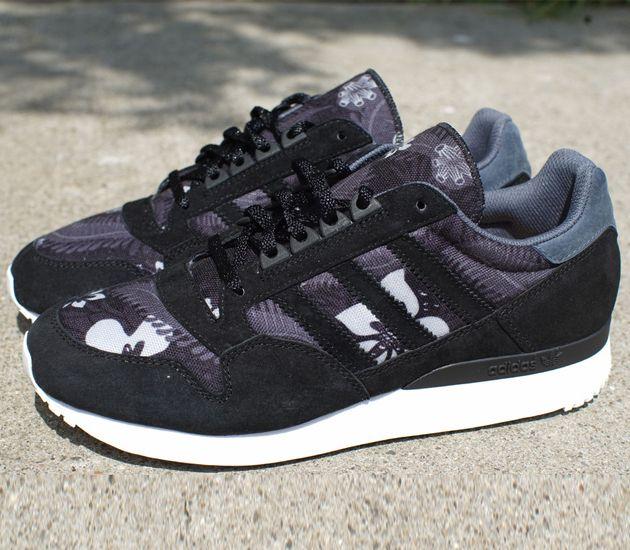 """be85ec9f9c7c6 adidas Originals ZX 500 """"Hawaiian"""" – Black"""