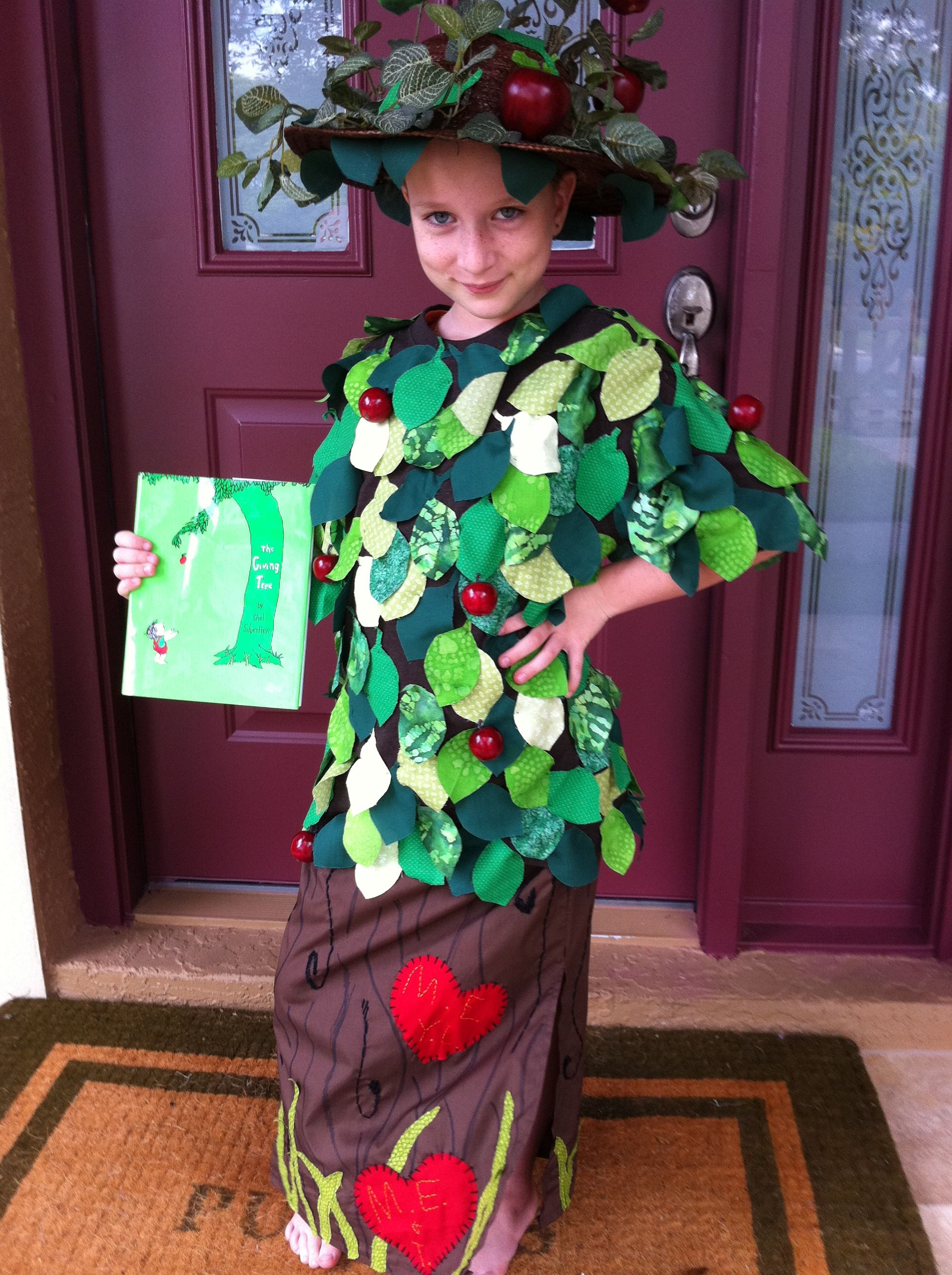 The giving tree costume I made my daughter for storybook character ...