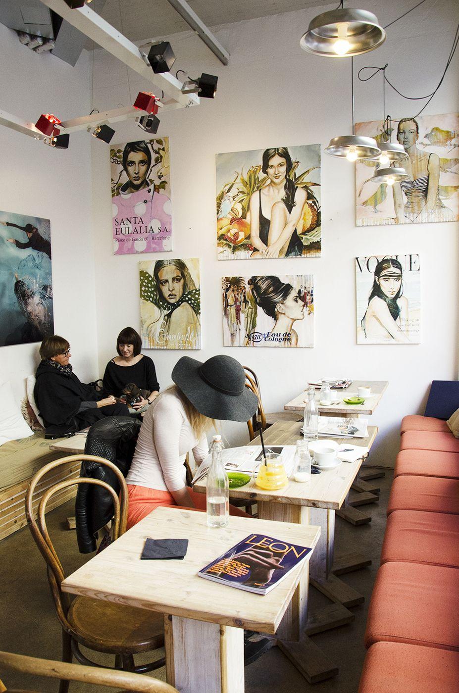 pikkukahviloiden rakastajille – punavuoren suloinen kahvila kuuma - Love Da Helsinki | Lily.fi #café #rawfood