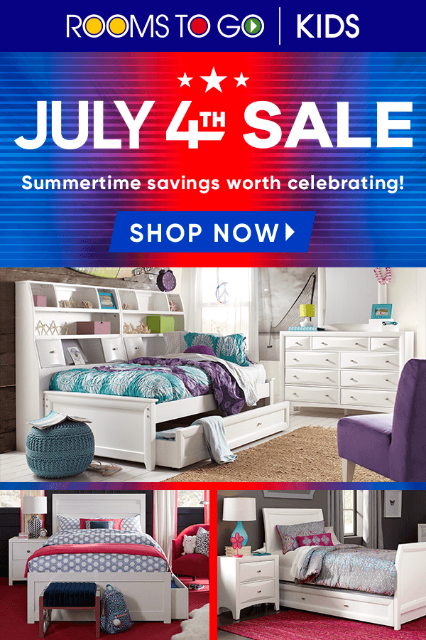 July 4th Hot Buys Rooms To Go Kids Room Makeover Rooms To Go