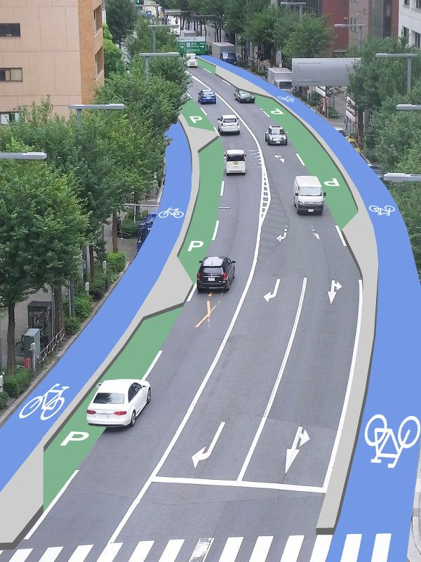 perfect comes from perfect: 実は広い東京の道路
