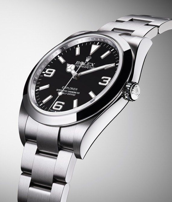 79ad24543fa The  rolex Oyster Perpetual Explorer - this watch s satin-finished Oyster  case measures 39