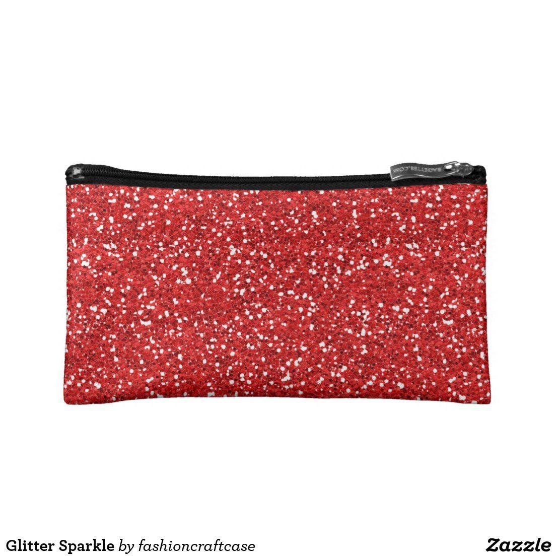 Glitter Sparkle Makeup Bag Zazzle Com In 2020 Sparkle Makeup