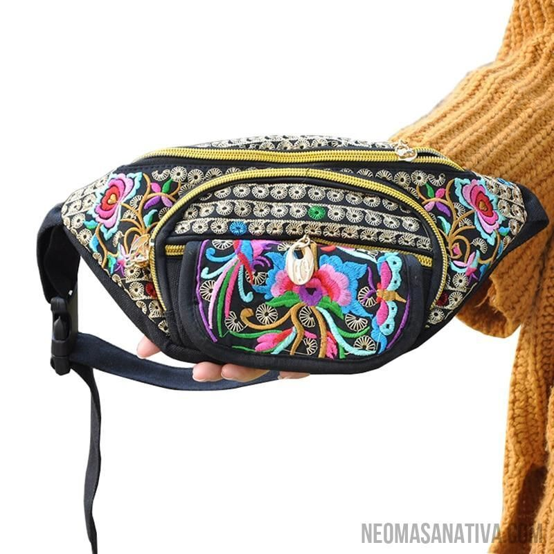 f18ff6d3bbf New Original Design Cosmetic Bag Woman's Bag High Volume Waist Bag copper  crash tree. Tribal Styles Fanny Pack Collection