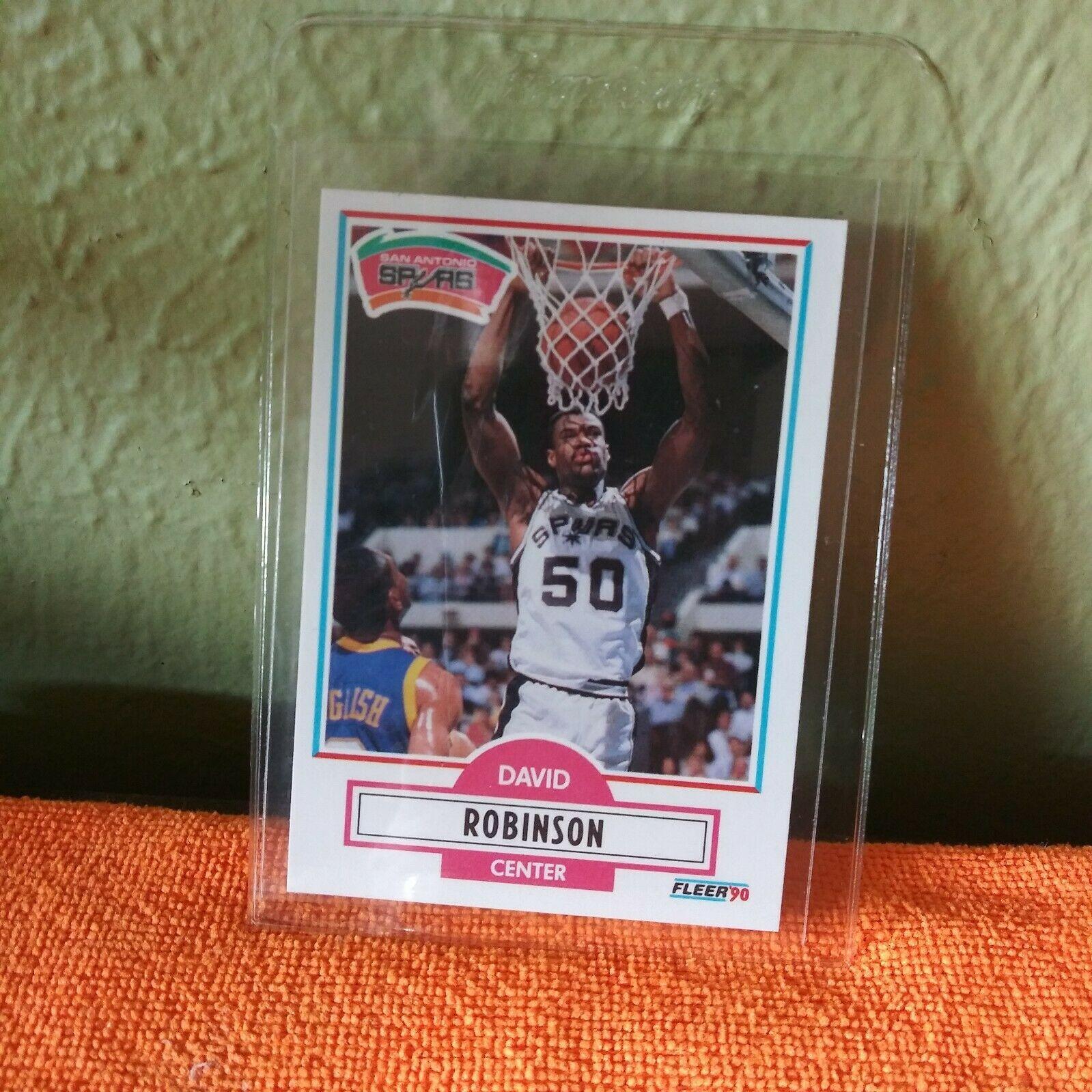 1990 fleer david robinson 172 basketball card