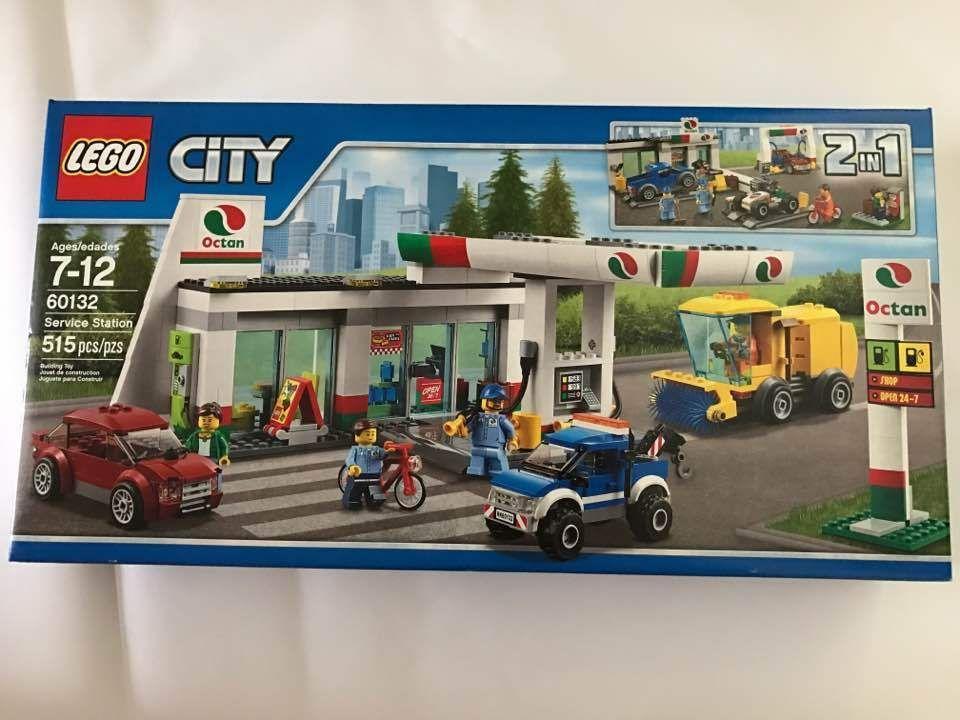 Lego City Gas Station Lego City 60132 Service Station 2019 02 15