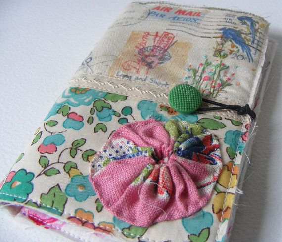 Handmade NEEDLECASE sweet little thing by hensteeth on Etsy