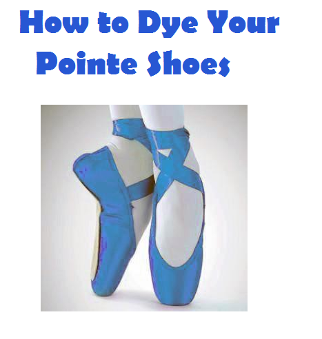 63121688bb447e 5 Tips For Male Ballet Dancers. Here s an article about dying your pointe  shoes ...
