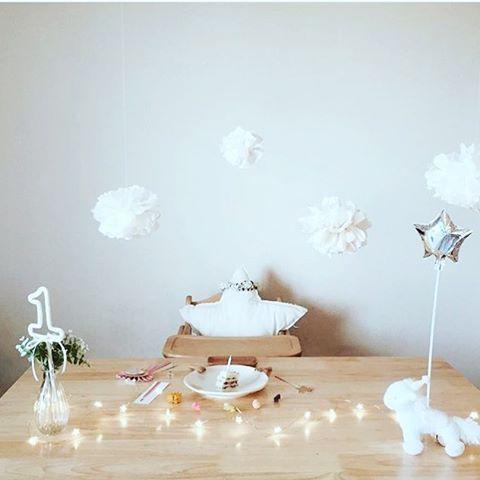 sirius trille star LED light Ssize ⭐︎⭐︎⭐︎ repost thanks @satk0 :-) お誕生日のテーブルセッティングにも素敵なライトです。
