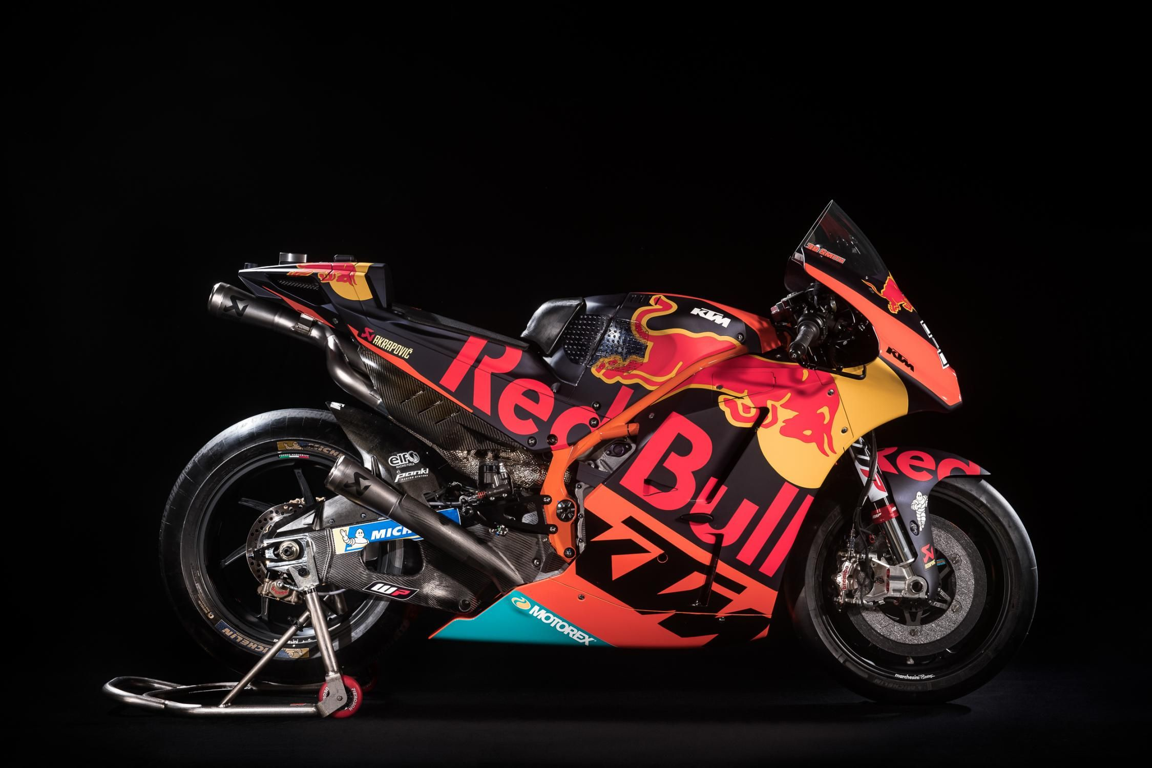Ktm Rc16 2018 Right Side Ktm Racing Motorcycles Racing Bikes
