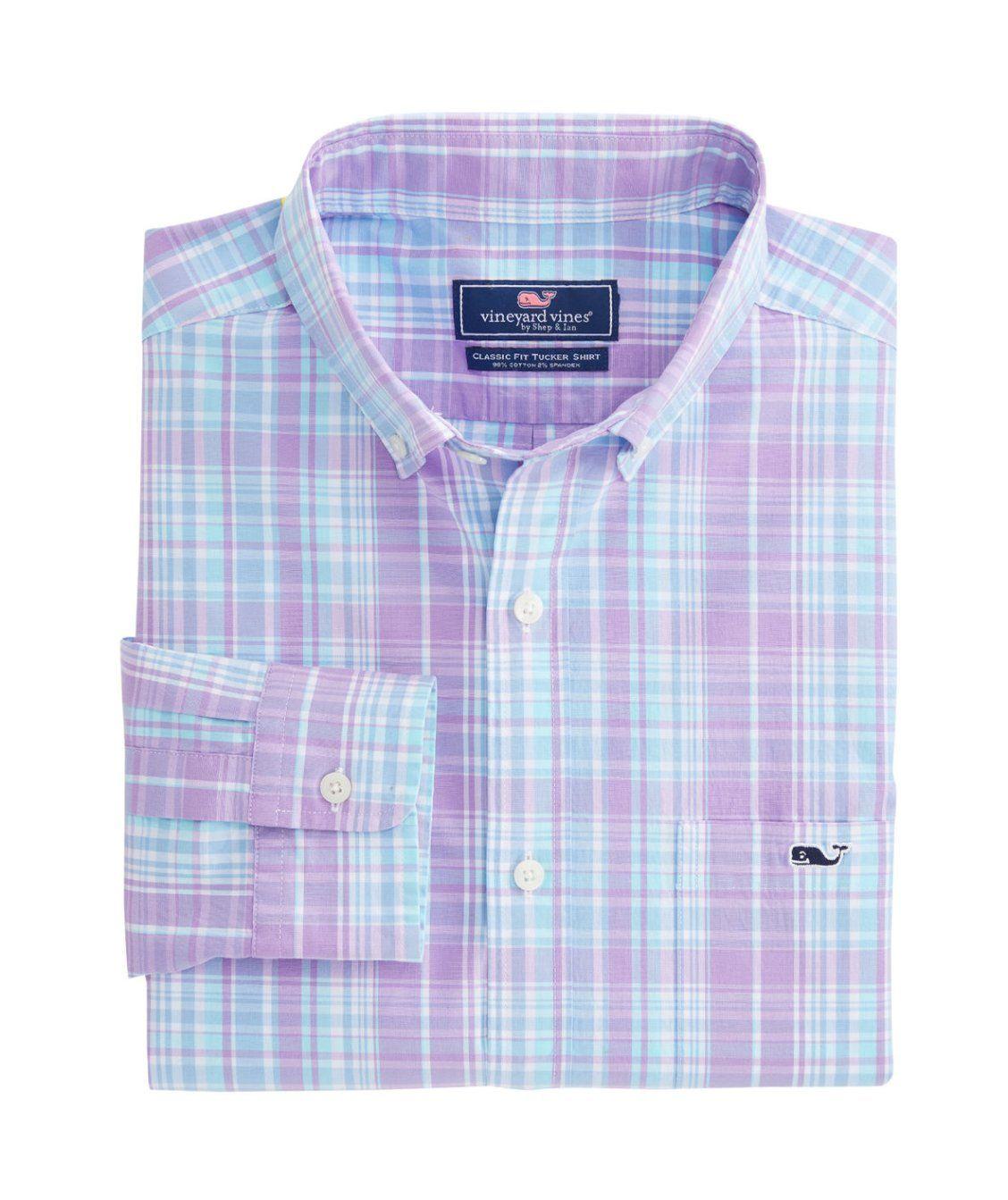 f9a5c03b1 New Providence Plaid Classic Tucker Shirt   new arrivals   Shirts ...